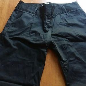 NWOT Black Straight-Legged Pants